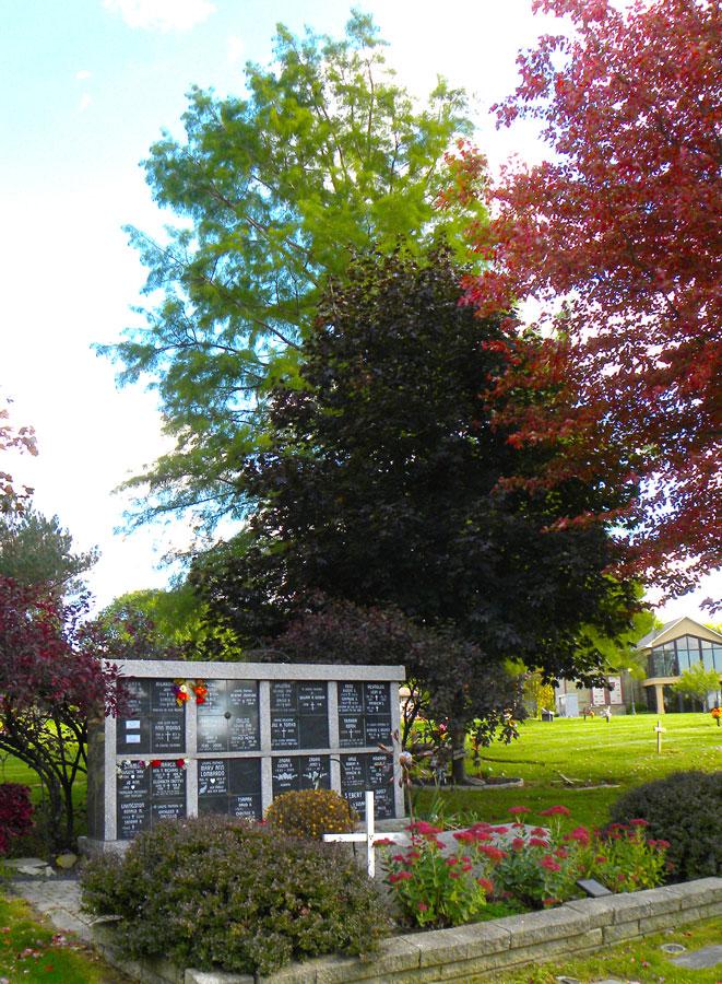 colum | Hope Memorial Gardens