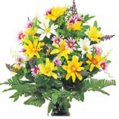 Hope Memorial Gardens - delightful daisies - A Cemetery Of All Faiths